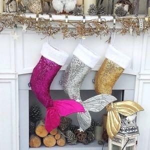 💜2XHP💚 Mermaid Tail Christmas Stocking 🧜♀️🤶